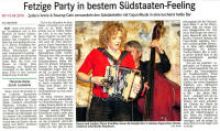 Fetzige Party in bestem Südstaaten-Feeling